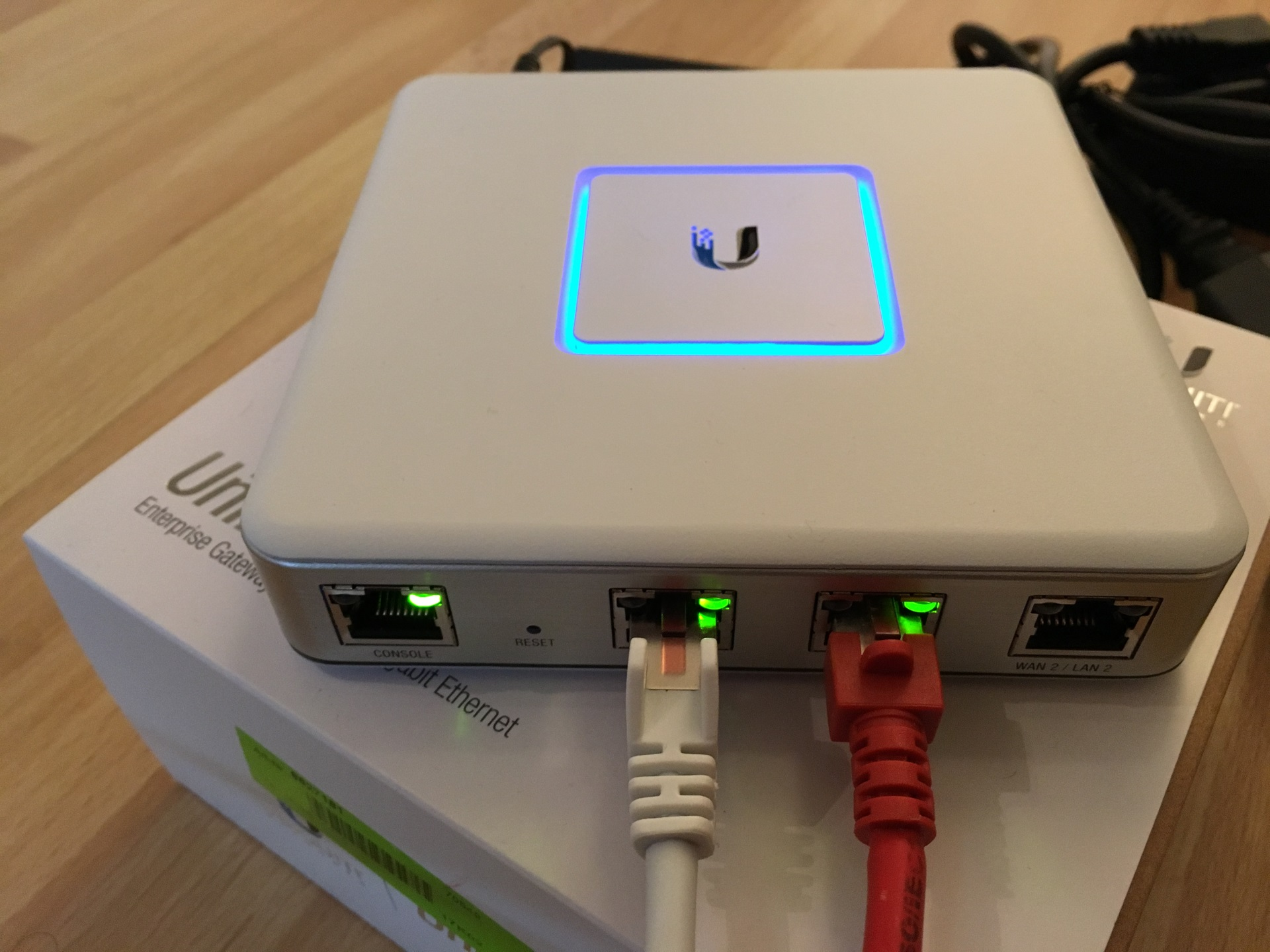 UniFi Security Gateway Einrichtung